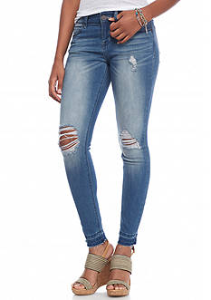 Indigo Rein Released Hem Skinny Jeans