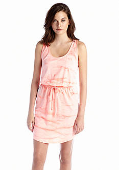 Jessica Simpson Rose Vertical Tie-Dye Dress