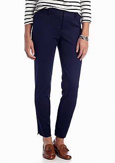 crown & ivy™ Bi-Stretch Clean Ankle Pant
