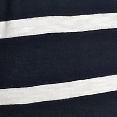 Layering Tees for Women: Navy/White crown & ivy™ Authentic V-Neck Scale Stripe Short Sleeve Tee