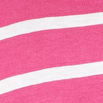 Layering Tees for Women: Pink/White crown & ivy™ Authentic V-Neck Scale Stripe Short Sleeve Tee