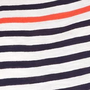Women's T-shirts: Atlas Ivory crown & ivy™ Striped Long Sleeve Tee