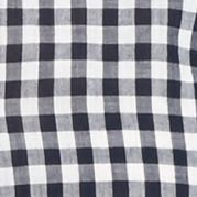 Button Down Shirts for Women: Navy/White crown & ivy™ Gingham Button Down Shirt