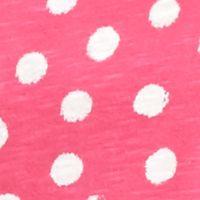 Women's T-shirts: Pink/White crown & ivy™ Dot Short Sleeve Tee