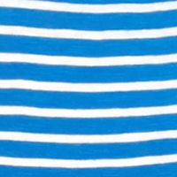 Crown & Ivy™: Blue Earth/White crown & ivy™ Stripe V-Neck Tee