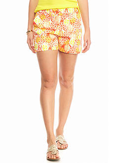 crown & ivy™ Citrus Slice Shorts