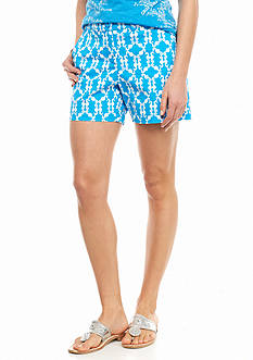crown & ivy™ Seahorse Scroll Shorts