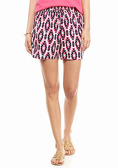crown & ivy™ Ikat Print Soft Shorts