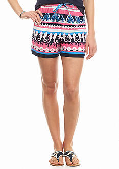 crown & ivy™ Sea Party Soft Shorts