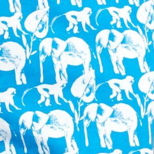 Crown & Ivy™ Women Sale: Blue/White crown & ivy™ Safari Stampede Scallop Shorts