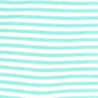 Women's Resort Tops: Green/White crown & ivy™ beach Striped Mock Neck Jacket