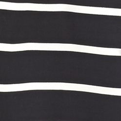 Crown & Ivy™ Women Sale: Black/Ivory crown & ivy™ Striped Peasant Shirt