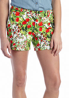 crown & ivy™ Casual Printed Short