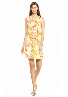 crown & ivy™ Citrus Dress