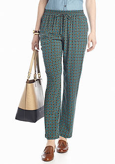 crown & ivy™ Printed Soft Pant