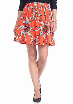 crown & ivy™ Giraffe Medallion Soft Skirt