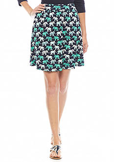 crown & ivy™ Elephant Soft Skirt