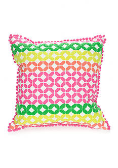 crown & ivy™ Broken Geo Pillow