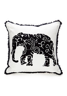 crown & ivy™ Single Elephant Pillow
