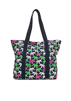 crown & ivy™ Elephant Entourage Tote