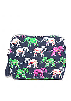 crown & ivy™ Elephant Entourage Cosmetic Bag