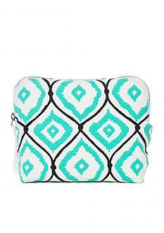 crown & ivy™ Diamond Cosmetic Bag