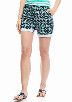 crown & ivy™ Dubai Long Shorts