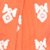 Women: Scarves & Wraps Sale: Gear Orange crown & ivy™ Embroidered Tassel Scarf
