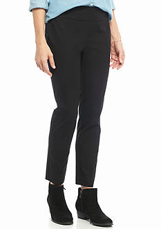 crown & ivy™ Pull-On Bi-Stretch Pants - Short