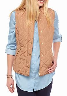 Jackets Amp Blazers Womens Tan Khaki Vests Belk