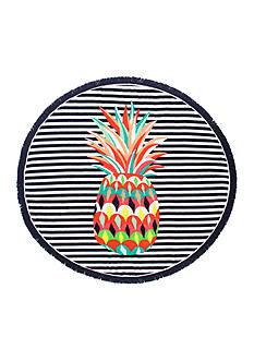 crown & ivy™ Pineapple Beach Towel