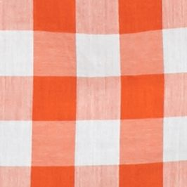 Button Down Shirts for Women: Orange/White crown & ivy™ Go Go Gingham