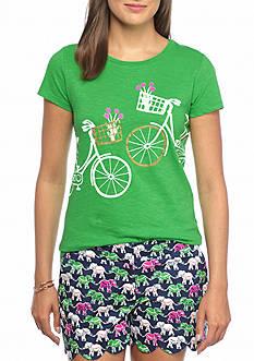 crown & ivy™ Basket Bike Tee