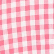 Petite Tops: Pink/White crown & ivy™ Petite Gingham Button Down Shirt