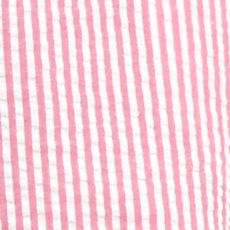 Petites: Shorts & Bermudas Sale: Pink/White crown & ivy™ Petite Seersucker Scallop Shorts