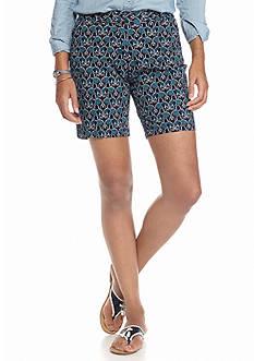 crown & ivy™ Petite Elephant Shorts