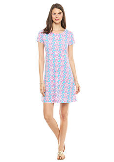crown & ivy™ beach Petite Starfish Swing Dress