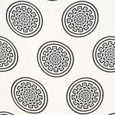 Petite Blouses: Ivory/Navy crown & ivy™ Petite Medallion Print Buttonback Top