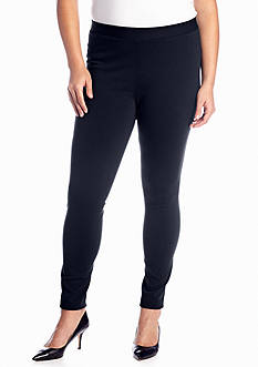 crown & ivy™ Plus Size Ponte Core Legging