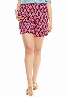 crown & ivy™ Plus Size Marrakesh Medallion Shorts