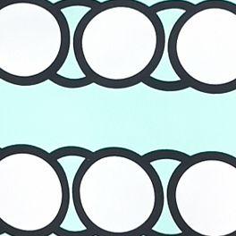 Crown & Ivy™: Mint/White crown & ivy™ Plus Size Dot Stripe Halter Dress