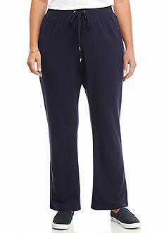 crown & ivy™ Plus Size Straight Leg Pants