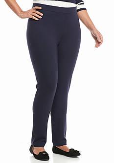 crown & ivy™ Plus Size Ponte Legging Pants