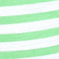 Women: Tunics Sale: Green/White crown & ivy™ beach Lace-Up Stripe Tunic