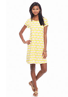 crown & ivy™ beach Elephant Swing Dress