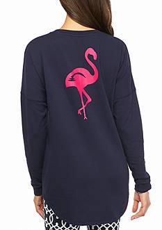 crown & ivy™ beach Flamingo Sweeper