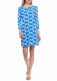 crown & ivy™ beach Elephant Dress