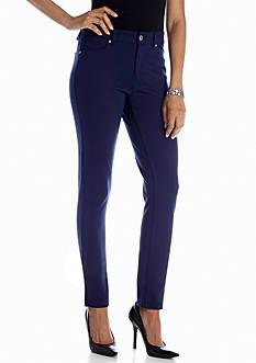 New Directions® Embellished Pocket Ponte Pant