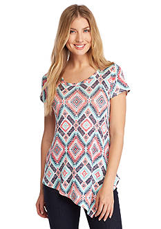 New Directions Weekend Tribal Asymmetrical Top