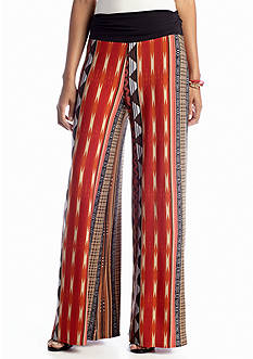 New Directions® Tribal Stripe Palazzo Pant